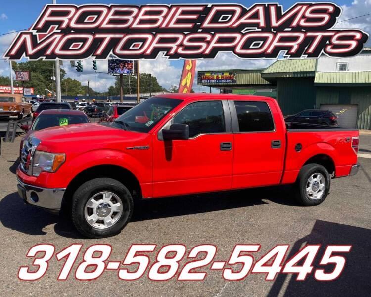 2012 Ford F-150 for sale at Robbie Davis Motorsports in Monroe LA