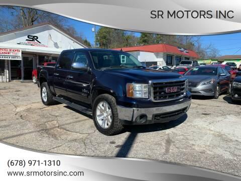 2008 GMC Sierra 1500 for sale at SR Motors Inc in Gainesville GA