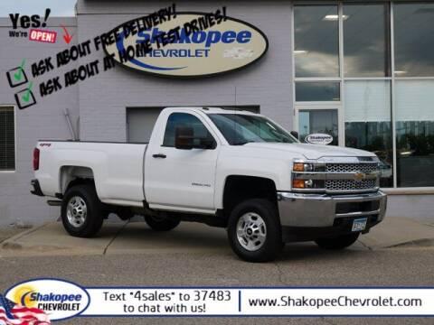 2019 Chevrolet Silverado 2500HD for sale at SHAKOPEE CHEVROLET in Shakopee MN