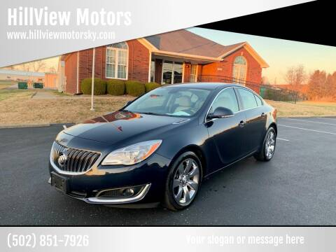 2015 Buick Regal for sale at HillView Motors in Shepherdsville KY