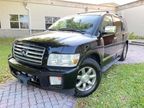 2006 Infiniti QX56 for sale at Citywide Auto Group LLC in Pompano Beach FL