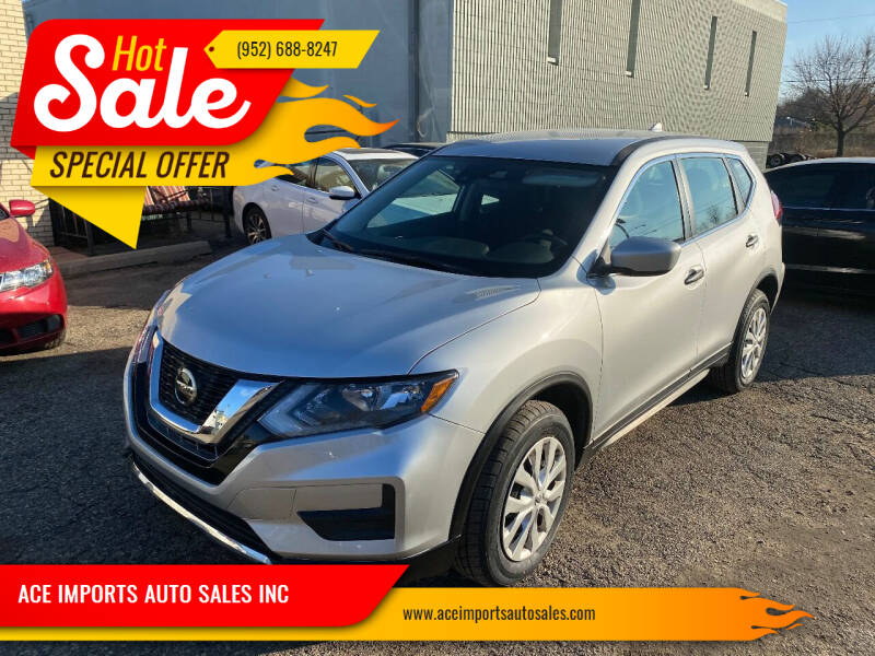2020 Nissan Rogue for sale at ACE IMPORTS AUTO SALES INC in Hopkins MN