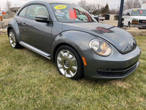 2016 Volkswagen Beetle for sale at Foust Fleet Leasing in Topeka KS