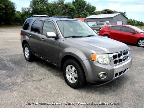 2009 Ford Escape for sale at Gary Simmons Lease - Sales in Mckenzie TN