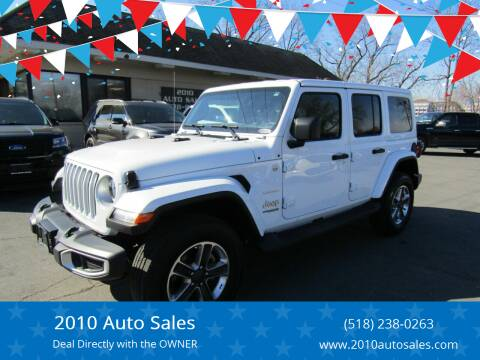 2019 Jeep Wrangler Unlimited for sale at 2010 Auto Sales in Troy NY