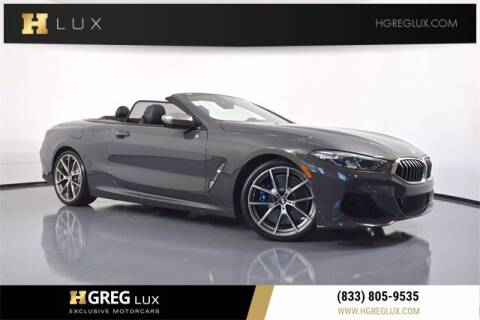 2019 BMW 8 Series for sale at HGREG LUX EXCLUSIVE MOTORCARS in Pompano Beach FL