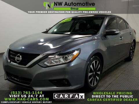 2018 Nissan Altima for sale at NW Automotive Group in Cincinnati OH