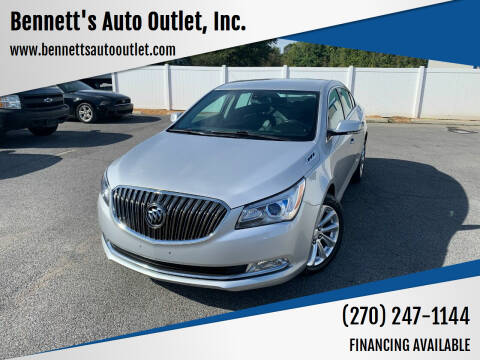 2015 Buick LaCrosse for sale at Bennett's Auto Outlet, Inc. in Mayfield KY