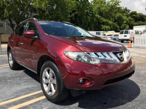 2010 Nissan Murano for sale at LKG Auto Sales Inc in Miami FL