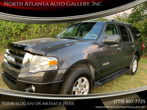 2007 Ford Expedition for sale at North Atlanta Auto Gallery, Inc in Alpharetta GA