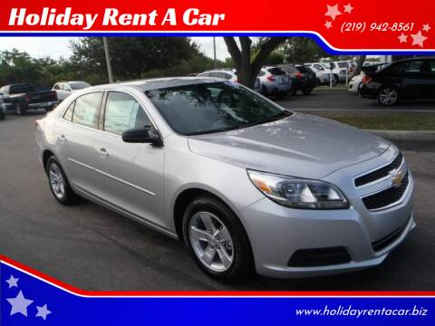 2018 Chevrolet Malibu for sale at Holiday Rent A Car in Hobart IN
