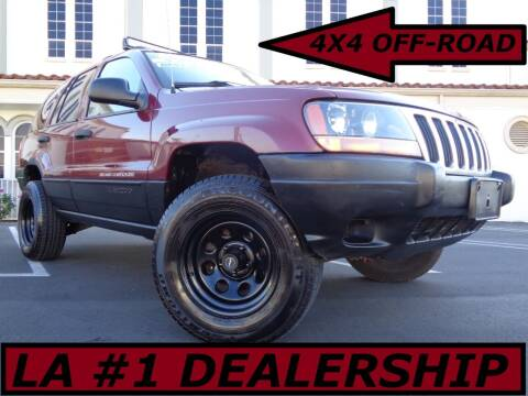 2002 Jeep Grand Cherokee for sale at ALL STAR TRUCKS INC in Los Angeles CA