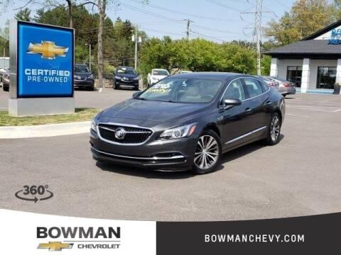 2017 Buick LaCrosse for sale at Bowman Auto Center in Clarkston MI