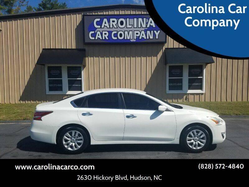 2015 Nissan Altima for sale at Carolina Car Company in Hudson NC