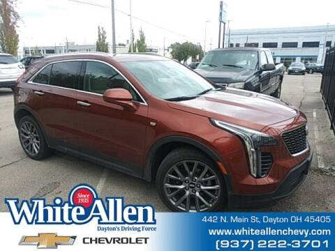 2019 Cadillac XT4 for sale at WHITE-ALLEN CHEVROLET in Dayton OH