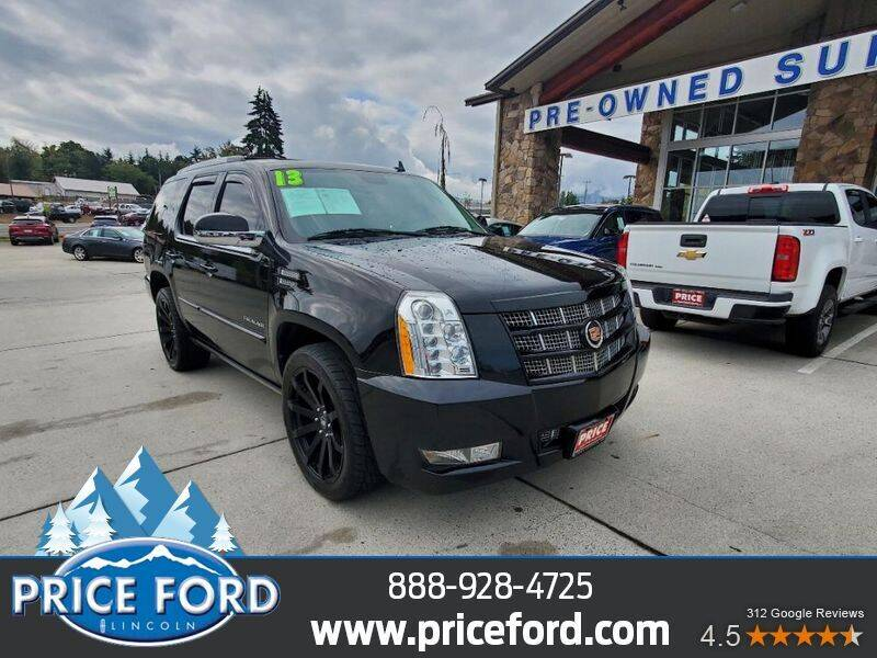 2013 Cadillac Escalade for sale at Price Ford Lincoln in Port Angeles WA