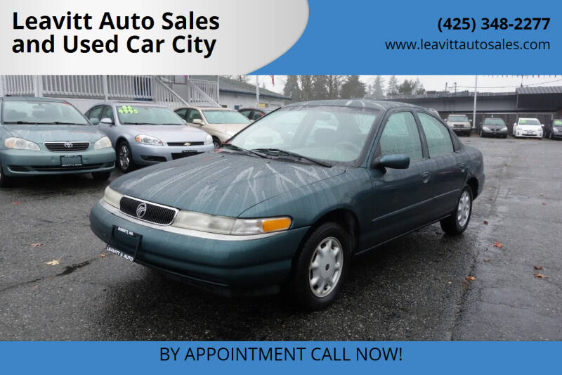 1995 Mercury Mystique for sale at Leavitt Auto Sales and Used Car City in Everett WA