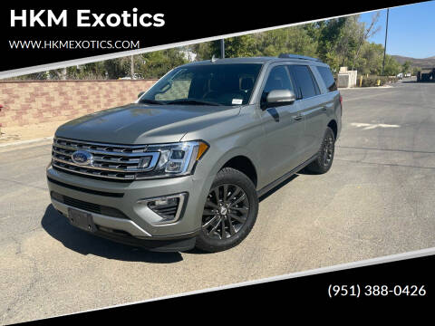 2019 Ford Expedition for sale at HKM Exotics in Corona CA