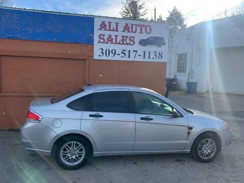 2008 Ford Focus for sale at Ali Auto Sales in Moline IL
