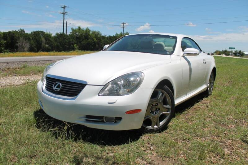 2007 Lexus SC 430 for sale at Elite Car Care & Sales in Spicewood TX