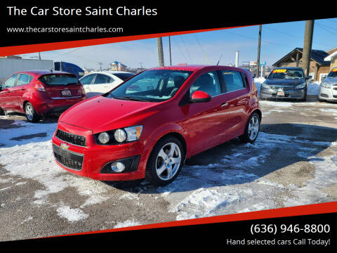 2013 Chevrolet Sonic for sale at The Car Store Saint Charles in Saint Charles MO