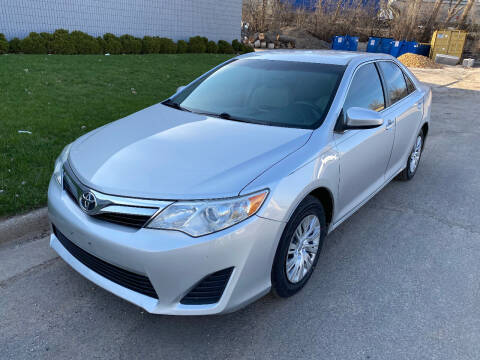 2014 Toyota Camry for sale at ACE IMPORTS AUTO SALES INC in Hopkins MN