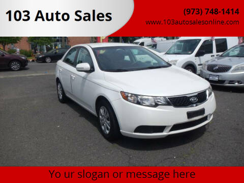2012 Kia Forte for sale at 103 Auto Sales in Bloomfield NJ