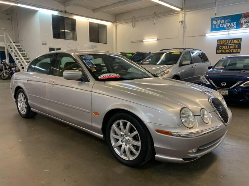 2001 Jaguar S-Type for sale at Cuellars Automotive in Sacramento CA