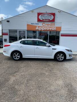2015 Kia Optima for sale at MARION TENNANT PREOWNED AUTOS in Parkersburg WV