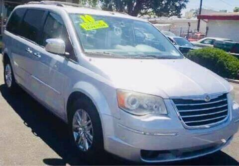 2010 Chrysler Town and Country for sale at ALBUQUERQUE AUTO OUTLET in Albuquerque NM