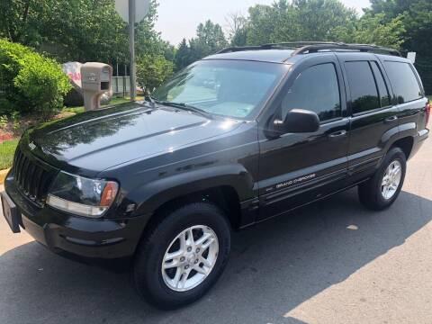 2004 Jeep Grand Cherokee for sale at Dreams Auto Sales LLC in Leesburg VA