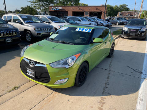 2012 Hyundai Veloster for sale at AM AUTO SALES LLC in Milwaukee WI