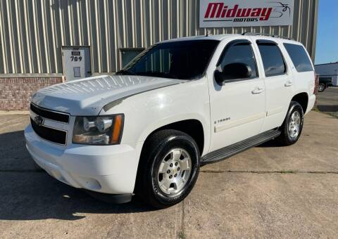 2007 Chevrolet Tahoe for sale at Midway Motors in Conway AR