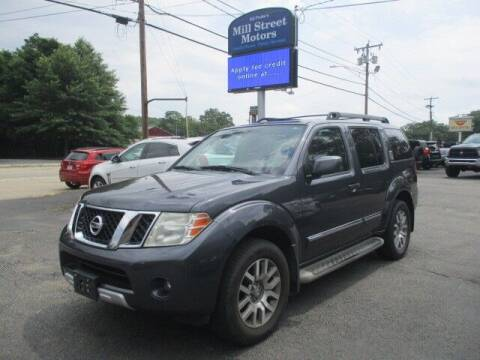 2010 Nissan Pathfinder for sale at Mill Street Motors in Worcester MA