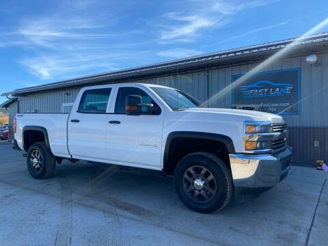 2018 Chevrolet Silverado 2500HD for sale at FAST LANE AUTOS in Spearfish SD