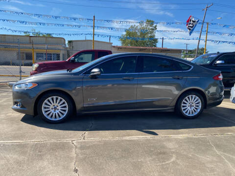 2016 Ford Fusion Energi for sale at Bobby Lafleur Auto Sales in Lake Charles LA