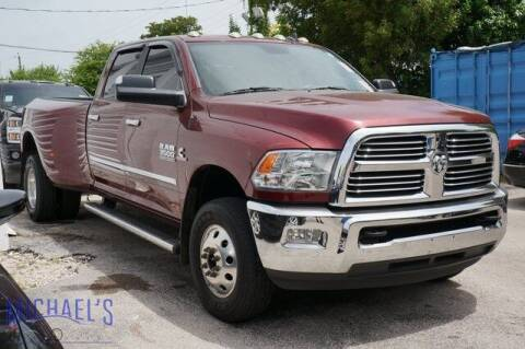 2017 RAM Ram Pickup 3500 for sale at Michael's Auto Sales Corp in Hollywood FL