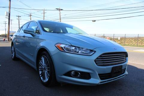 2014 Ford Fusion Hybrid for sale at Vantage Auto Wholesale in Lodi NJ