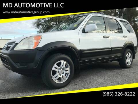 2004 Honda CR-V for sale at MD AUTOMOTIVE LLC in Slidell LA