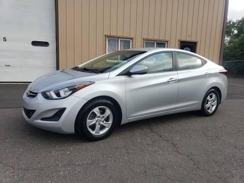 2014 Hyundai Elantra for sale at Massirio Enterprises in Middletown CT