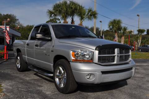 2008 Dodge Ram Pickup 1500 for sale at STEPANEK'S AUTO SALES & SERVICE INC. in Vero Beach FL