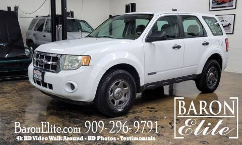2008 Ford Escape for sale at Baron Elite in Upland CA