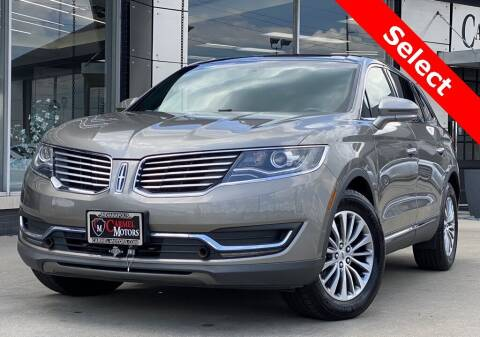 2017 Lincoln MKX for sale at Carmel Motors in Indianapolis IN