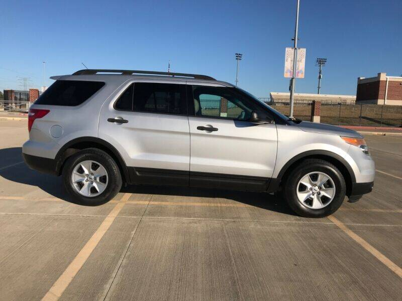 2013 Ford Explorer for sale at ALL AMERICAN FINANCE AND AUTO in Houston TX