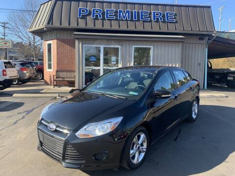 2014 Ford Focus for sale at Premiere Auto Sales in Washington PA