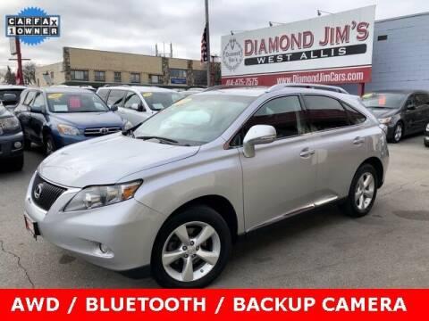 2010 Lexus RX 350 for sale at Diamond Jim's West Allis in West Allis WI