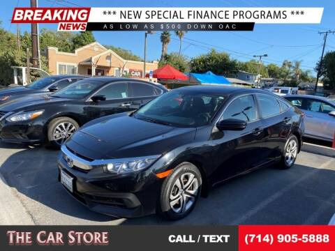 2017 Honda Civic for sale at The Car Store in Santa Ana CA