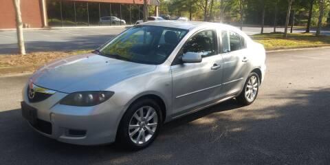 2007 Mazda MAZDA3 for sale at Georgia Fine Motors Inc. in Buford GA
