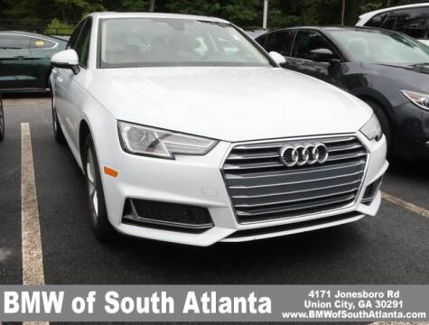 2019 Audi A4 for sale at Carol Benner @ BMW of South Atlanta in Union City GA
