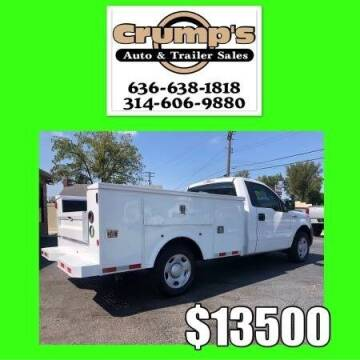 2009 Ford F-150 for sale at CRUMP'S AUTO & TRAILER SALES in Crystal City MO